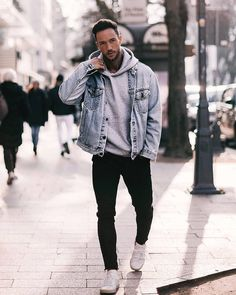 Magic fox winter outfits nachstylen men s patchwork long sleeved pullover Stylish Mens Outfits, Casual Winter Outfits, Trendy Suits, Cool Outfits For Men, Best Winter Outfits Men, Summer Outfits, Winter Clothes For Guys, Amazing Outfits, Casual Outfit For Men