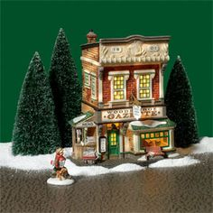 "Department 56: Products - ""Woodbridge Gazette & Printing Office"" - View Lighted Buildings"