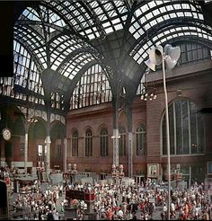 The original Penn Station New York City - Beaux Arts Style architecture OL Beach Canopy, Backyard Canopy, Garden Canopy, Canopy Outdoor, Canopy Tent, Ikea Canopy, Hotel Canopy, Window Canopy, Canopy Bedroom
