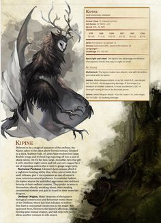 Design Character Monster Dungeons And Dragons 70 Ideas Mythical Creatures Art, Mythological Creatures, Magical Creatures, Mythological Monsters, Dungeons And Dragons Homebrew, D&d Dungeons And Dragons, Dnd Dragons, Dungeons And Dragons Characters, Fantasy Monster