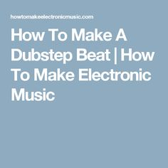 In this FL Studio tutorial, I will show you a one possible way to make a Dubstep beat. Sample selection, drum programming, wobble (modulated) bass, etc. Good Tutorials, Design Tutorials, Music Stuff, My Music, Fruity Loops, Music Software, Ableton Live, Sound Design, Dubstep