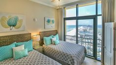 Beach views right from bed is how every vacation should be!
