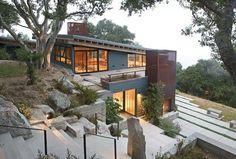 House design on slope