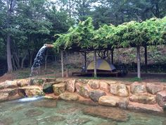 The Damyang House: camping at wolchulsan national park