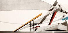 Zaha Hadid's New Paintings of The Peak Project: Art Hong Kong (PHOTOS)