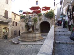 St. Paul de Vence in Provence is a gem of a village on everyone's list when visiting this lovely corner of France