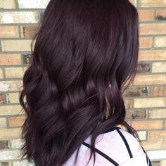 Very+Dark+Burgundy+Brown+Hair