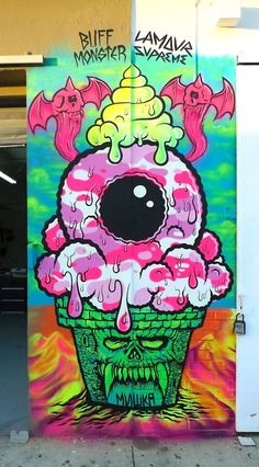 'Mishka awesomeness'.  I love anything Mishka, their eyeball and designs by Lamour Supreme.