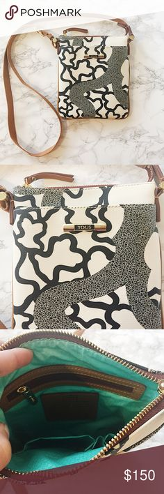 Tous Crossbody Bag NWOT Tous bag with black and white print. ★ measurements available upon request ★ reasonable offers considered ★ no trades Tous Bags