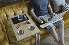 Nathan Mummert is raising funds for CADDY - Tech Meets Furniture on Kickstarter! iSkelter is revolutionizing home furniture. Experience an easier way of living - now in the comfort of your home. Make Design, Home Furniture, The Originals, Digital, Table, Projects, Muse, Industrial Design, Woodwork