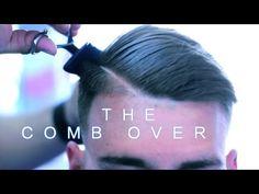 Comb Over | Side Part | Low Skin Fade | Scissor Work | Barber Tutorial | Corte de pelo | Kv7 - YouTube