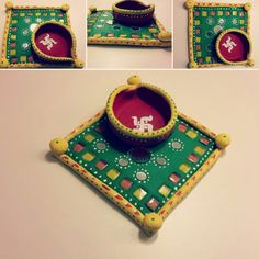 Hand made Traditional clay diya for festival time!!!