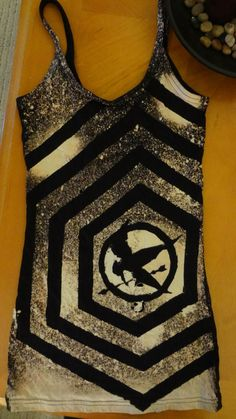 Hunger Games Tshirt by dianarose1 on Etsy, $17.00