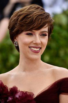 Scarlett Johansson at the 2018 Met Gala.