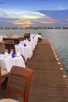 At the end of the jetty overlooking the ocean, the Falhumaa is the jewel in the culinary crown. The Residence Maldives (Falhumaafushi, Maldives) - Jetsetter