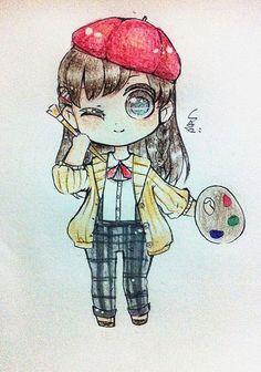 Cute anime drawing~