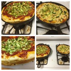 Deep Dish VEGAN pizza- YUM!   (Recipe from one of the most kickass nutritionists anywhere!)