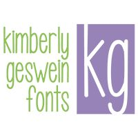 New Font « Kimberly Geswein Fonts