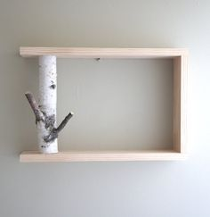 I would just use the birch under my cabinet to hold mugs for coffee - that would be cool