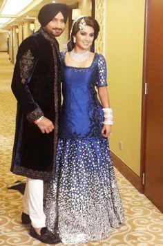 The Reception! #Wedding2015 #Weddingplz #Wedding #Bride #Groom #love #Fashion #IndianWedding #Beautiful #Style #Bollywood #Cricketer