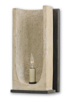 Available through House of Values. ROWLAND Wall Sconce from Currey & Company NEW BESTSELLER #52086W X12H X5D As though plucked out of time from an ancient monastery, the bestselling Rowland Wall Sconce achieves a sense of rustic allure in its use of raw materials and stylish minimalism. A single bulb provides the light source from within the body, where the Portland finish delivers an attractive timeworn feel. Aged Steel supports update this lighting accent with a contemporary feel.