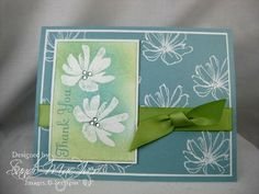 Fast & Fabulous embossed by SandiMac - Cards and Paper Crafts at Splitcoaststampers