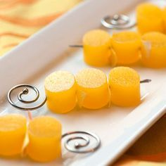 Mimosa Jelly Shots