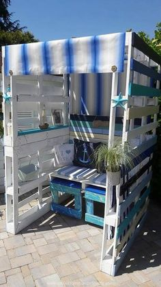 Patio Pallets Strandkorb Chair