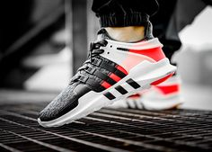 Adidas EQT Support ADV - Turbo Red/Black - 2017 (by elzapatillaztio) Available here: Adidas / Overkill / Pro Direct / Allike / Caliroots / More shops