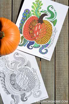 Pumpkin Doodle Color