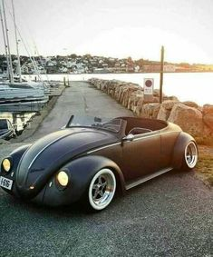 HOT und RAT-RODS Source by autoinnenausstattungdesignn Rat Rods, Vw Rat Rod, Carros Vw, Vintage Cars, Antique Cars, Vw Cabrio, Kdf Wagen, Modified Cars, Amazing Cars
