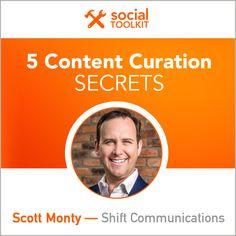 5 Content Curation Secrets - @socialfresh
