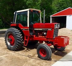 1544 best only red tractors images on pinterest international ih 1086 freerunsca Images