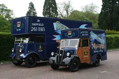 1938 Guy Vixen  and 1957 Ford Thames Fordson E83W