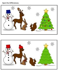Can you find differences between these two pictures? Look carefully!