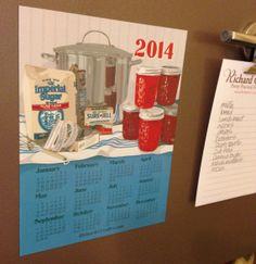 2014 Calendar Magnet One More Batch by RichardCreative on Etsy, $4.95