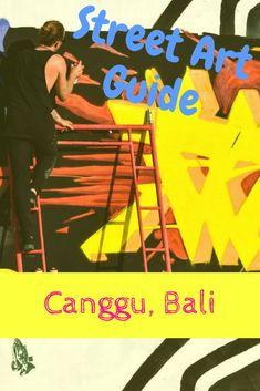 Street Art Guide to Canggu Bali