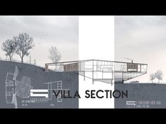 (21) Villa Section - Photoshop Architecture - YouTube