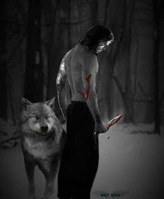 Stucky AU (Human!Bucky/Werewolf!Steve)