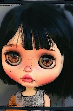 Lulla doll, poupée, muñeca, petite fille, manga, bd, comics Lulla Doll, Bd Comics, Shirt Style, Dolls, Disney Princess, Disney Characters, Anime, Shirts, Art