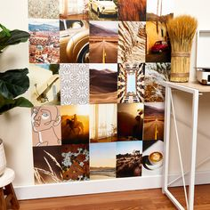 It's easy to create this collage wall at home using Avery Surface Safe labels. The removable adhesive sticks and stays put yet removes cleanly without damage or residue! Customize your own designs or select from hundreds of free templates with Avery Design & Print Online. Photo Wall Collage, Printable Designs, Diy Photo, It's Easy, Sticks, Personalized Gifts, Adhesive, Unique Gifts, Divider