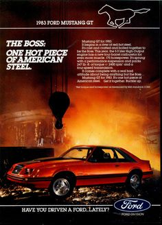 1983 Ford Mustang GT                                                                                                                                                                                 More