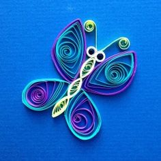 Paper quilling - Butterfly