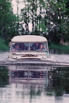 It's only a puddle! #OffRoad #Challenge #Adventure #Explore #Fun
