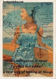 travel quote, love the layered picture, great for seaside illustration and world map, or a plane and a world map!