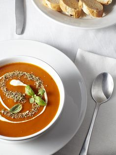 zupa pomidorowa, tomato soup Tomato Soup, I Foods, Thai Red Curry, Food Photography, Ethnic Recipes, Tomato Soup Recipes
