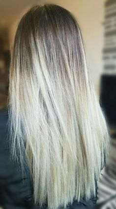 Blonde Balayage on long hair Balayage Long Hair, Blonde Balayage, Hair Blog, Hair Pictures, All Things Beauty, Ponytail, My Hair, Curly, Hair Beauty