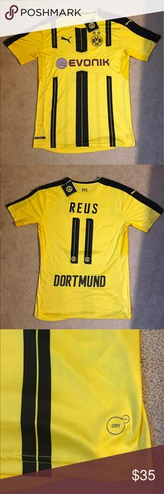 Reus , Borussia Dortmund jersey #11 Adult medium sizes , Bundesliga season 16/17 . Borussia Dortmund soccer jersey , Reus #11  brand new with tags . Puma Shirts Tees - Short Sleeve