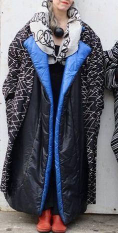 Coats on coats on coats.