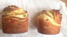 Оригинальный пасхальный кулич очень сильно напоминает огромный краффин, с большим количеством сухофруктов и орехов внутри.
